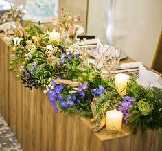 #setremarinabiwako#novarese #vressetrose #Wedding #blue #purple# whitegreen #Flower #Bridal#table coordination#maintable#セトレマリーナびわ湖#ノバレーゼ#ブレスエットロゼ #ウエディング# ブルー #パープル #ブルー#テーブル#メインテーブル#会場装花#結婚準備#花#ナチュラル# ブライダル#結婚式#ホロニック#キャンドル Funeral Flower Arrangements, Funeral Flowers, Flower Images, Table Settings, Table Decorations, Blue, Wedding, Home Decor, Valentines Day Weddings