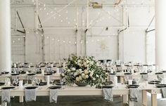 Image 30 - David   Jenna: A minimalist warehouse wedding in Real Weddings.