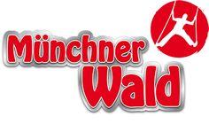 Münchner Wald - Kletterwald Vaterstetten. Kinderparcours ab 3 J. Einfache hohe Parcours ab 6 J.
