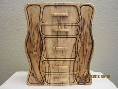 Old Radio shaped jewelry bandsaw box