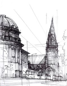 Ink Drawings Gallery 2014 on Behance by Lukasz Gac