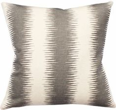 southwestern boho ikat pillow available at www.tonicliving.com