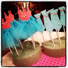 tutu cupcake picks - Google Search