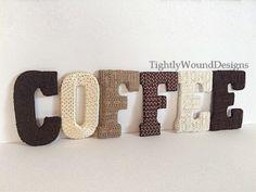 Coffee Shop Decor // TightlyWoundDesigns