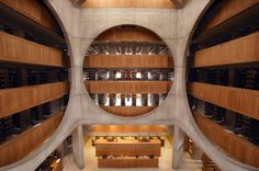 Louis I. Kahn designed a new library for New Hampshire's Phillips Exeter Academy in the 1960s - Photo: Brian F. Crowley
