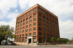 The old Texas Book Depository Building on Elm St.  Now home of The Sixth Floor Museum.