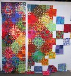 Exuberant Color: Triangles, garden, cookies............. xxx