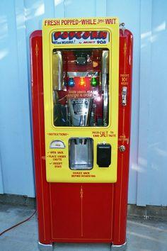 Popcorn Sez Machine Original Restored 1950 S Vintage