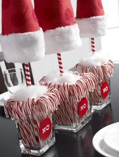 Christmas time in the office calls for copious amounts of candy canes <3