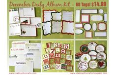 ** Chic Tags- delightful paper tags **: December 2009