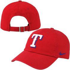 Nike Texas Rangers Stadium 3.0 Performance Adjustable Hat - Red