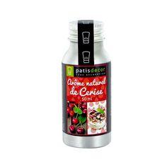 Arôme naturel Cerise Patisdécor 50 ml