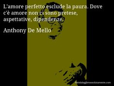 Cartolina con aforisma di Anthony De Mello (86)