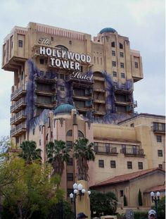 Twilight zone tower of terror! Best ride at the park