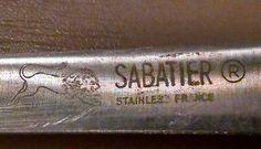 """Vintage Lion Sabatier Stainless Steel 5"""" inch Boning Knife France"""