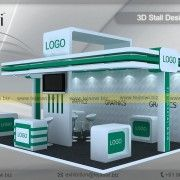 6 Meter x 4 Meter Exhibition Stand Design 24 Square Meter Exhibition Stand Design, Exhibition Stand Fabrication, Exhibition Stand Construction Exhibition Stall Design, Square Meter, Stand Design, Logo Design, Construction, Branding, Fabric, Building, Tejido
