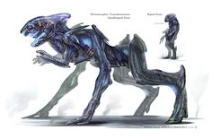 Creature Spot - The Spot for Creature Art, Artists and Fans - Aliens - Bipeds and Animalspecies