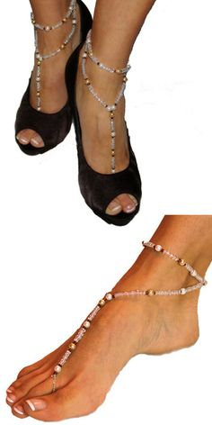 Items similar to Barefoot Sandals - Riley Wrap on Etsy Bare Foot Sandals, Barefoot, Valentino, Trending Outfits, Unique Jewelry, Heels, Handmade Gifts, Etsy, Fashion