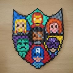 The Avengers hama beads by sweetbeads