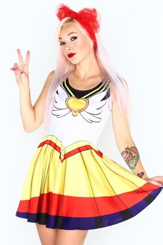 Eternal Sailor Moon (Limited)   $79   Living Dead Clothing