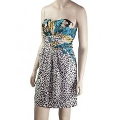 Juniors Sexy Brown Fitted Bodice Animal & Floral Mixed Print Dress!  http://www.juniorepicfashion.com/juniors/dresses-and-skirts/dresses/juniors-sexy-brown-fitted-bodice-animal-floral-mixed-print-dress.html
