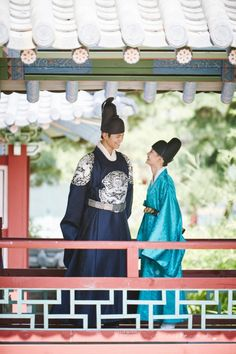 Bo-Yoo couple images at 'Moonlight Drawn by Clouds' released | Koogle TV