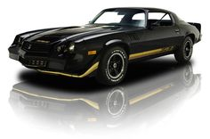 1979 Chevrolet Camaro Z/28 Black