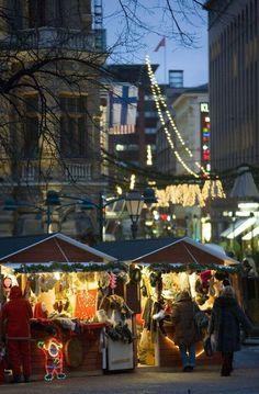 Helsinki, Christmas Market, Finland
