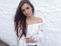 White lace for summer days