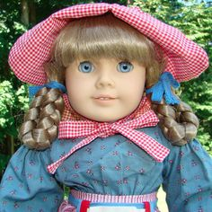 Pleasant Company Kirsten Doll in Original Meet Outfit Unplayed With #Dolls