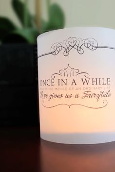 Fairytail Luminary - contact me to personalise your own!