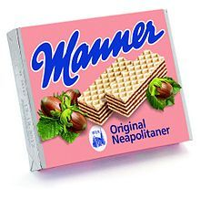 Five layers of crispy, paper-thin wafers and four layers of the finest hazelnut-chocolate-cream filling with hazelnuts. Manner Original Neapolitan – the unbeaten wafer classic Chocolate Hazelnut, Chocolate Cream, Manners, Cereal, Sweet Tooth, Candy, Snacks, Canning, The Originals