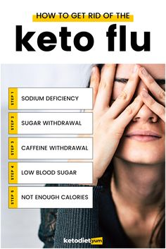 A keto headache, also known as the keto flu, is one of the most common symptoms of going into ketosis.