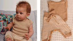 Strik det sødeste sæt til baby | Femina