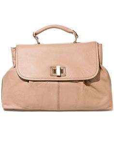 love the ladylike shape and neutral tone - am perplexed that bcbg charges this much for a handbag.