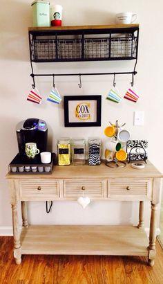 Diy Coffee Bar Ideas