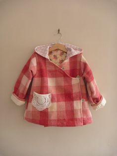 wool coat, this is so cute!