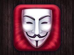 Vendetta Ios Icon 2 by Dima ZaborskikhGust-Art