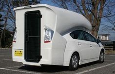 Toyota Prius camper by Campinn