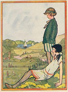 Rie Cramer ill    kleur  gulden meisjesboek j 30 by janwillemsen, via Flickr