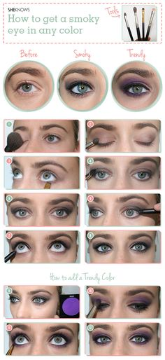 How to master the smokey eye in any color | SheKnows.com