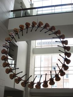 SUBMISSION: Guitar circle, Washington convention center. Donald Lipski.