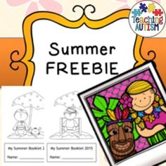 Summer Freebie Activity BookThis is a little thank you to my followers. A free summer book with a few different activities to keep your children occupied this Summer! 18 pages in total!Click below to find: Summer resources Seasonal Resources $2.99 and under cart fillers.=========================================================Once you have purchased this resource don't forget to come back and leave feedback to help you gain some TpT credits!