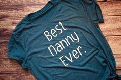Best Nanny Ever Nanny Shirt Nanny Gift Mary Poppins Nanny Tee Nanny Birthday Grandma Shirt Gr - Grandma Shirt - Ideas of Grandma Shirt - Best Nanny Ever Nanny Shirt Nanny Gift Mary Poppins Nanny Tee Nanny Birthday Grandma Shirt Gr Nanny Gifts, A Nanny, Grandma Gifts, Nanny Outfit, Mustard Shirt, Maroon Shirts, Mothers Day Shirts, Crew Neck Shirt