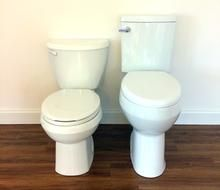 Excellent 20 Inch Bowl Extra Tall Convenient Height Toilet In 2019 Theyellowbook Wood Chair Design Ideas Theyellowbookinfo