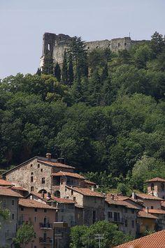 Piemonte TO Avigliana, Borgo San Pietro und Burg (Borgo St. Peter and castle) #Ancestry
