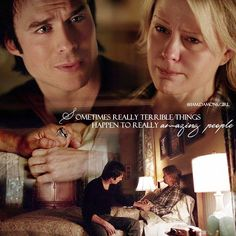 "#TVD 6x14 ""Stay"" - Damon and Liz"
