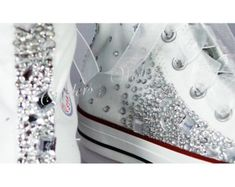 Converse Wedge Luxury pearl sparklers / All over converse /