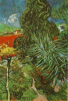 Doctor Gachets Garden in Auvers | Vincent Van Gogh | oil painting
