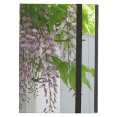 Pink Wisteria ~ Case For iPad Air ~ Unusual pink lavender wisteria draping over a white fence. Like the flowers at grandma's cottage. A sure sign of spring.